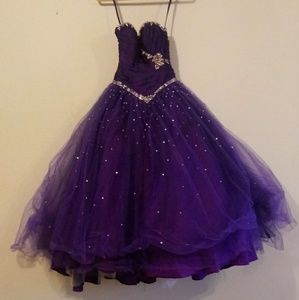 Mori Lee by Madeline Gardner Formal Puffy Dress